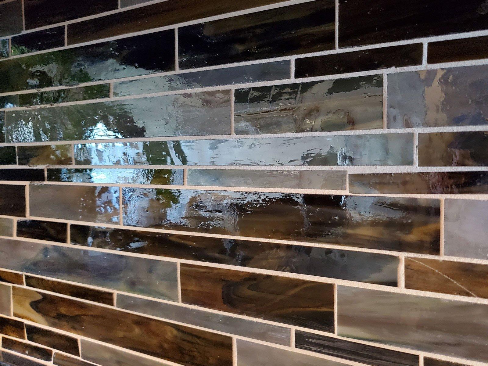 Jana Razga Interiors Kitsilano Condo Kitchen Tile Close Up